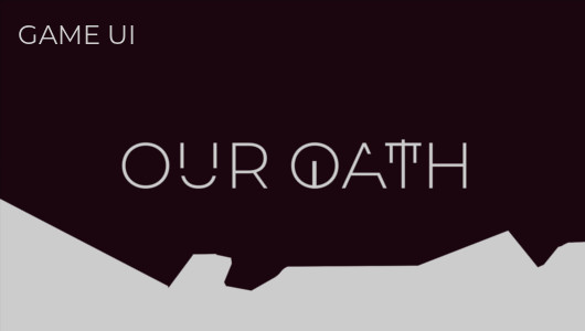 UI designs for Our Oath, an FPS MOBA game